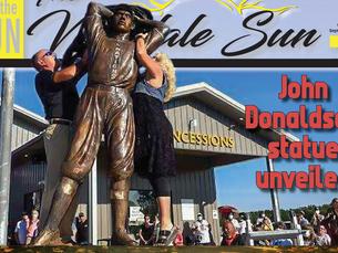 John Donaldson statue unveiled