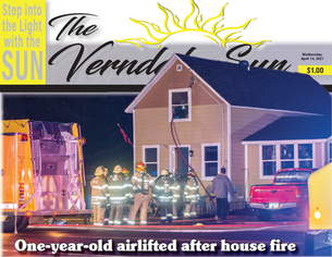 One-year-old airlifted after house fire