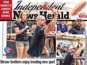 Messer brothers enjoy trending new sport