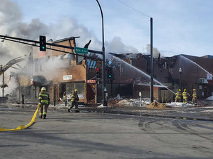 Multi Alarm Fire Ravages Downtown Alexandria Businesses
