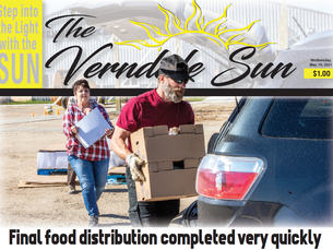 Final food distribution completed very quickly