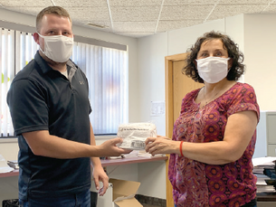 Todd County helps citizens mask up