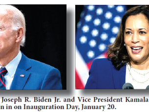 Biden, Harris sworn in