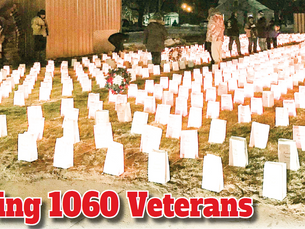 Honoring 1060 Veterans
