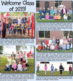 Welcome Classes of 2033