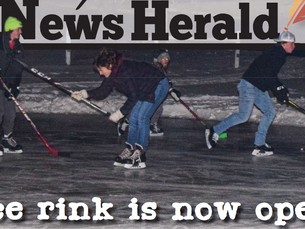 Ice rink is now open