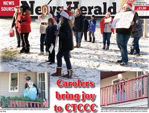 Carolers bring joy to CTCCC