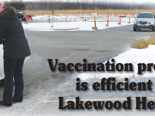 Vaccination process is efficient at Lakewood Health