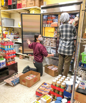 Food shelves feel the impact of the pandemic: They are here to help you