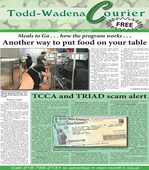 May Todd-Wadena Courier
