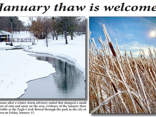 January thaw is welcome