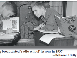 Distance learning is nothing new: Polio introduces a new way to learn