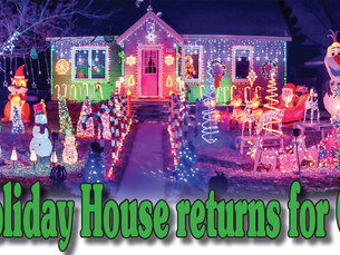 Hewitt Holiday House returns for Christmas