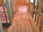 radiant floor heat repair service installation