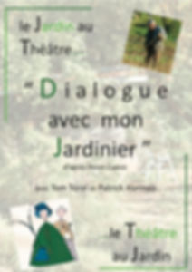 Dialogue avec mon Jardinier affiche mail