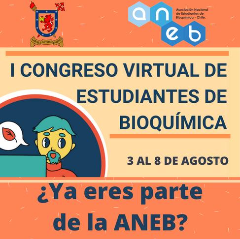 I Congreso Virtual de estudiantes de Bioquímica