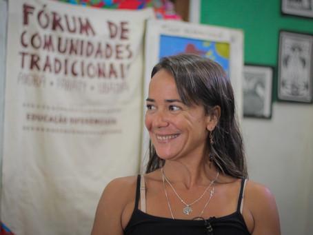 Entrevista: ser professora em um território tradicional