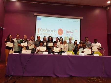 Saneamento Ecológico do OTSS recebe prêmio da FioPromos