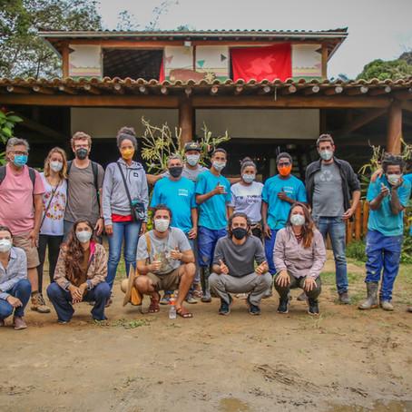 Curso de saneamento em territórios tradicionais realiza módulo presencial em Paraty