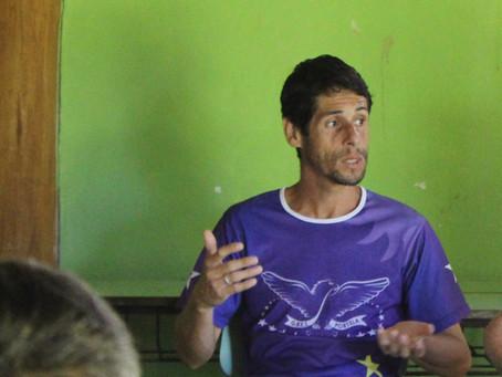 Jadson Santos: caiçara que leva a vida dedicada à luta do seu povo