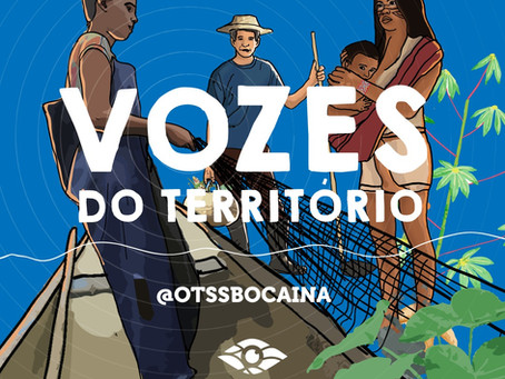 """OTSS lança podcast """"Vozes do Território"""""""