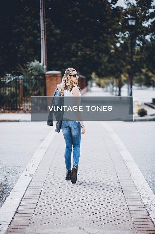 Lightroom & ACR Presets | Vintage Tones