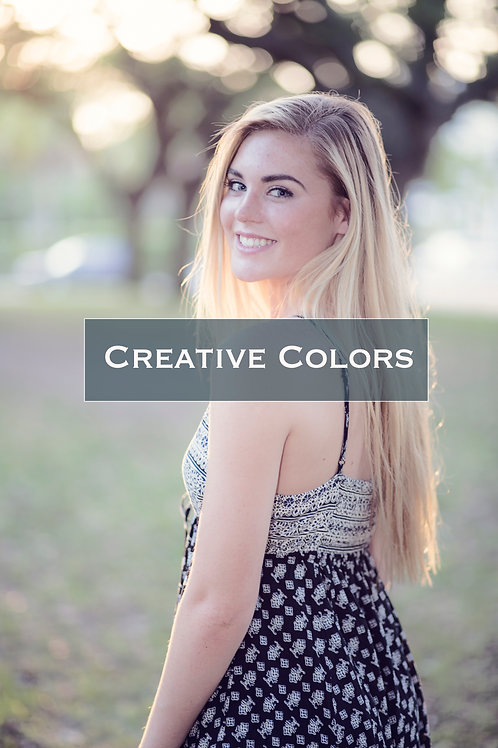 Photoshop Actions | Creative Colors Portrait Actions