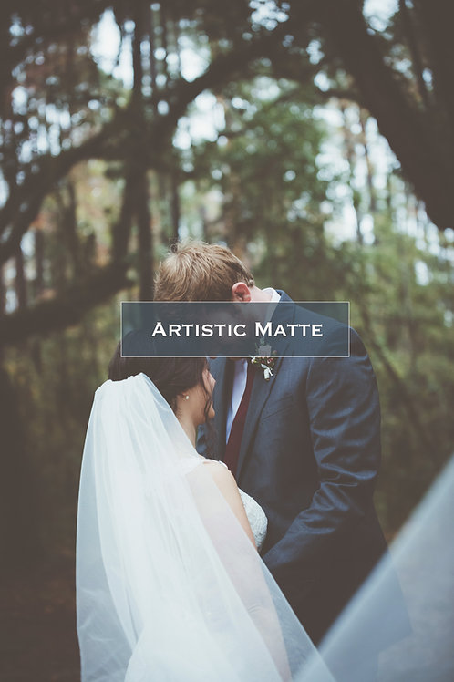 Photoshop Actions | Artistic Matte