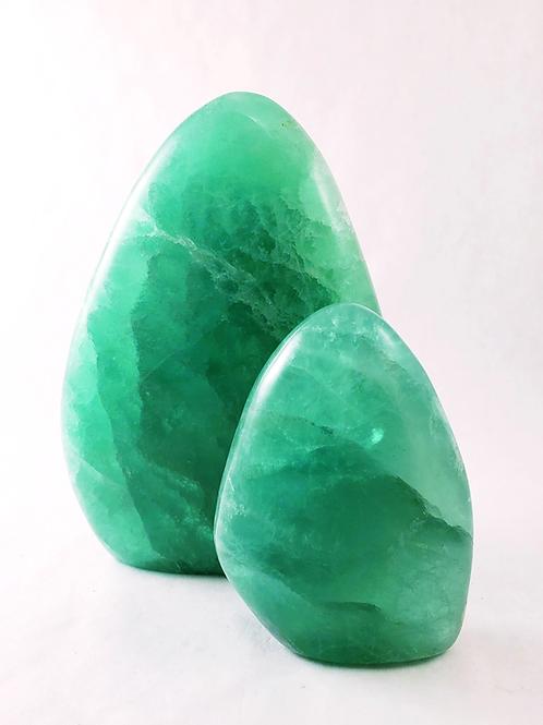 Green Fluorite Freeform