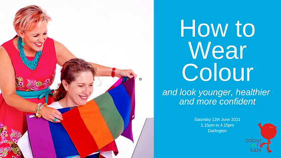Facebook Event How to Wear Colour worksh