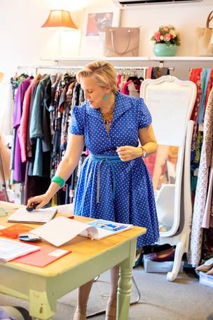 Colour me Kate setting up.jpg