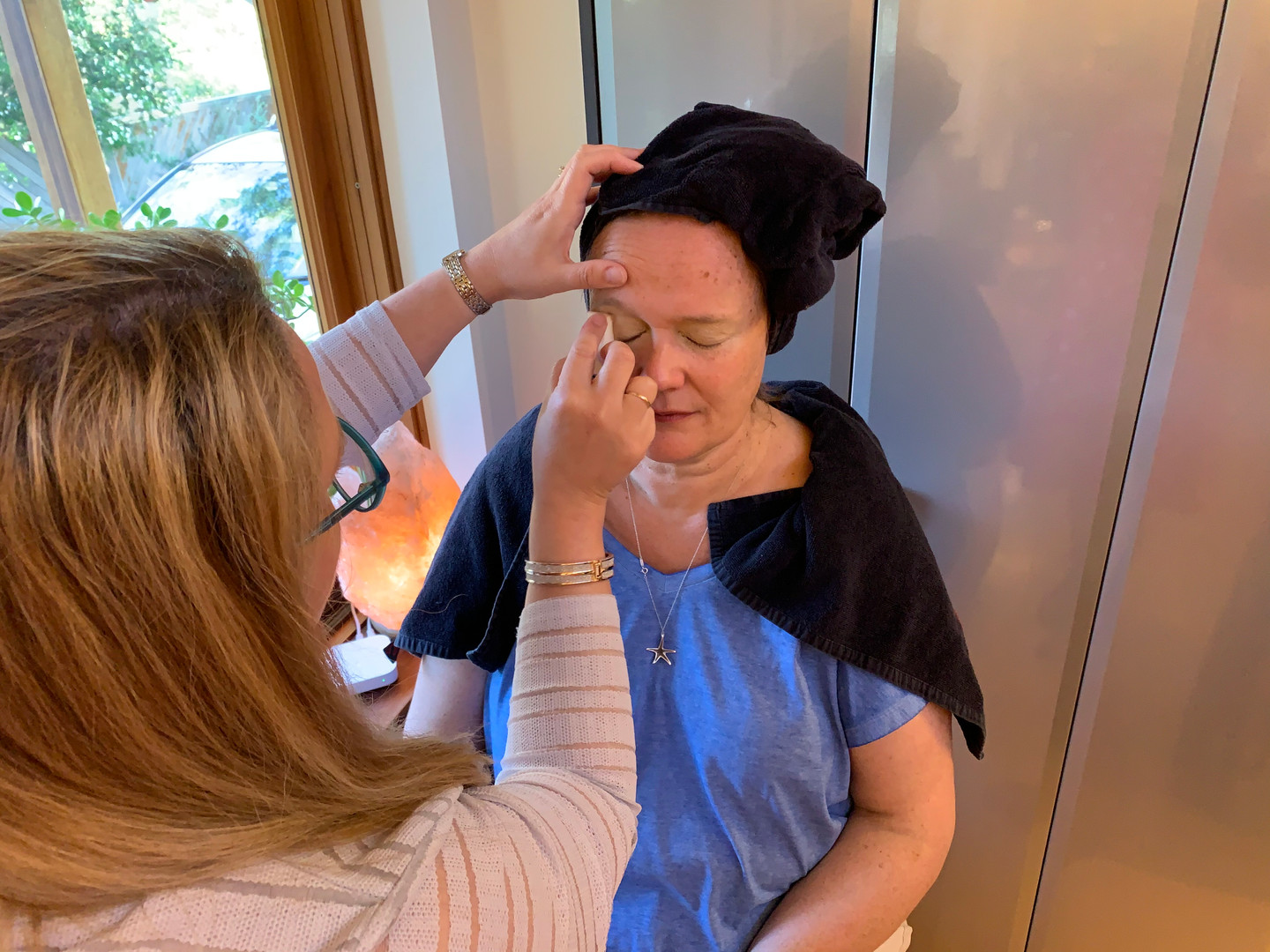 Meg gets her makeup done by Vanessa Busby from All About You Makeup ...