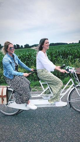 Tandem huren Antwerpen Brecht B&B Gasterij het Marum