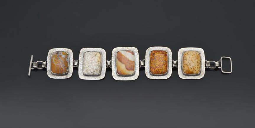 Variety stone bracelet