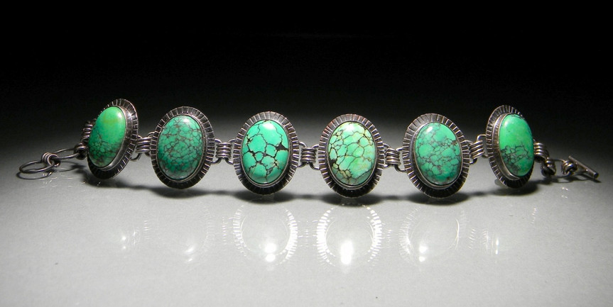 post modern green turquoise