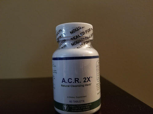 60 ct  A.C.R. 2X Natural Cleansing Herb