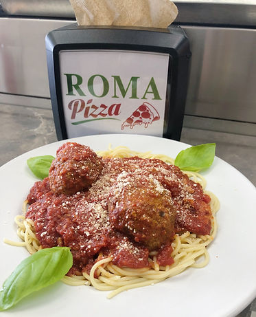 Spaghetti Meatballs Roma Pizza Ocean City New Jersey