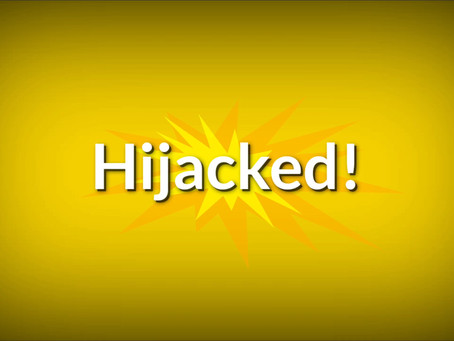 Hijacked! 😲