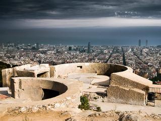 The secret bunkers of Barcelona