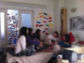 roommates share room barcelona erasmus