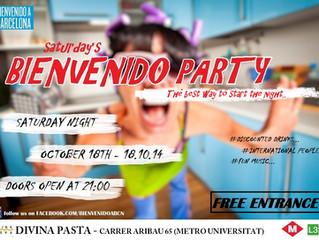 BIENVENIDO PARTY