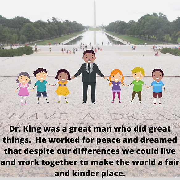 Celebrating Martin Luther King Jr. Day (