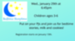 Wed., January 29th at 6_45pm Children ag
