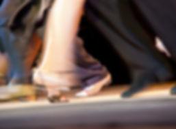 Pista de baile de salón de baile
