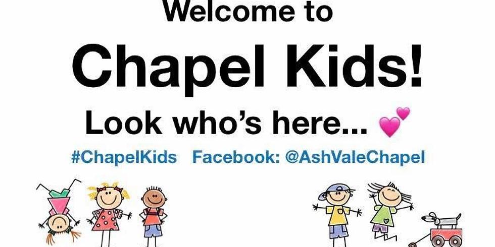 Chapel Kids Toddler Group Wednesdays 9.30-11.30