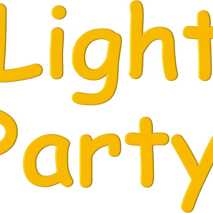 """""""Love and Light"""" trail (taking the lightparty to the street!) #MessyLightParty"""