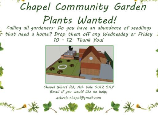 Thank you Chapel Gardeners