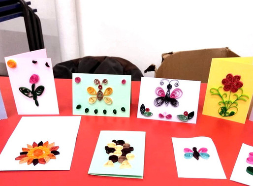 Quilling @ #ChapelCrafts