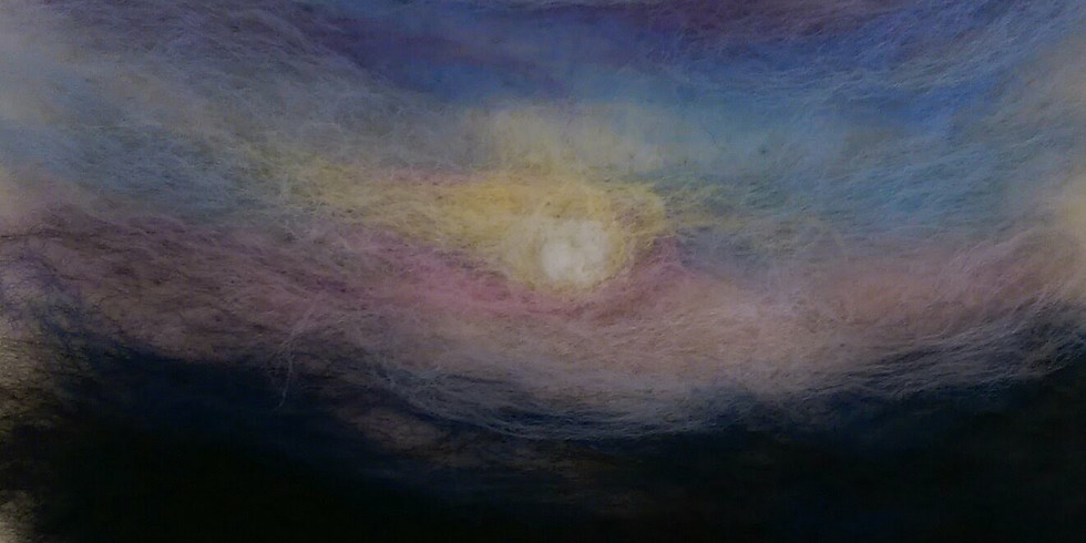 Chapel Arts Monthly Make - Painting with Fibres (Zoom)
