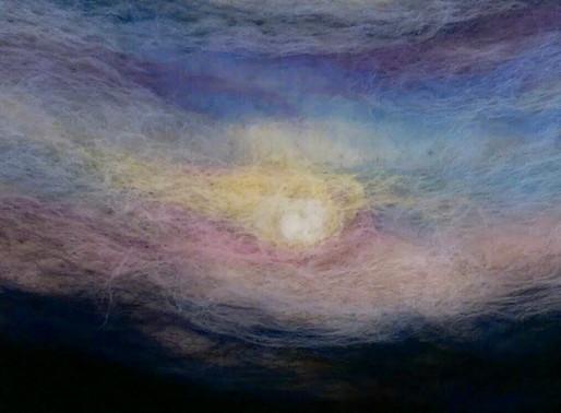Paint with Fibres - Zoom Workshop